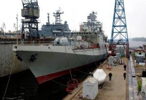 Frigate INS Trikand Starts Dockside Trials