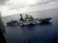Russian Navy Warships Dock in Southern Iran