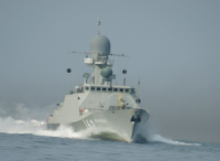 Caspian Flotilla received new Stealth corvette
