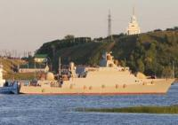 New Russian Missile Boat Starts Caspian Trials