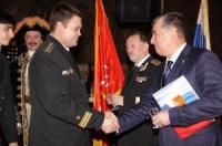 Officers of SSBN Alexander Nevsky Joined St. Petersburg Submariners' Club