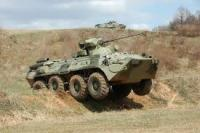 Russia Tests New Amphibious Armored Vehicle