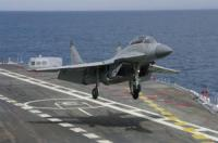 Air Wing of INS Vikramaditya Finished Tests
