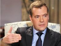 Medvedev Commented Defense Minister's Ouster